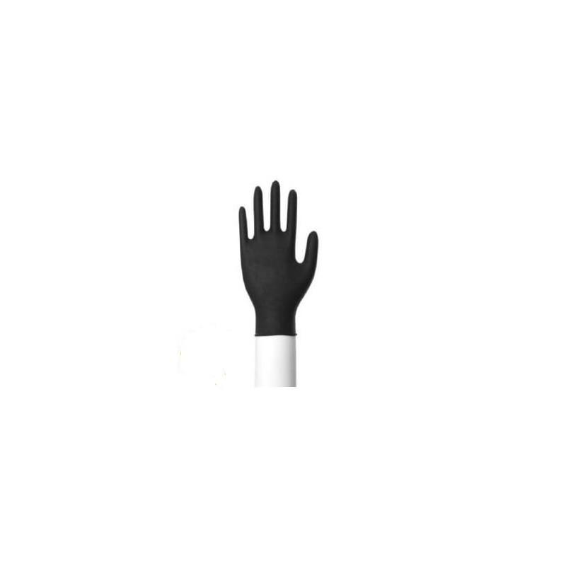 Nitril handschoenen zwart classic poedervrij maat S
