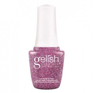 Gelish Art Form Gel Effects Silver Shimmer